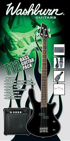 Pack contra baixo T12 Preto 220V - T12B PAK - WASHBURN
