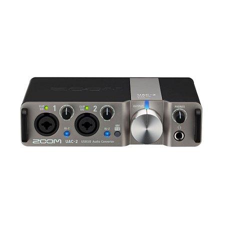 Interface de Audio ZOOM UAC-2 USB 3.0 - 2 anos de garantia