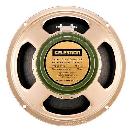 Alto-falante T1221 G12M GREENBACK 25W 16 OHMS - CELESTION