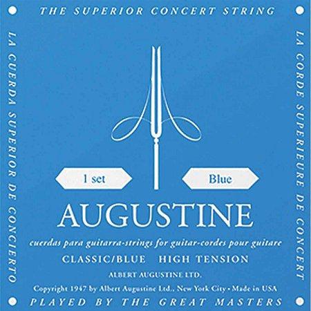 Encordoamento Violão Nylon Augustine Classic Blue