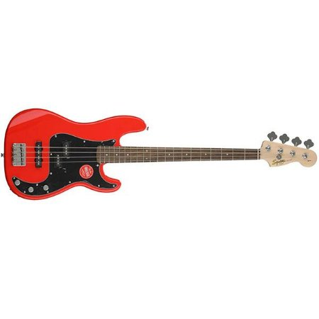 CONTRABAIXO FENDER SQUIER AFFINITY PJ. BASS RACING RED