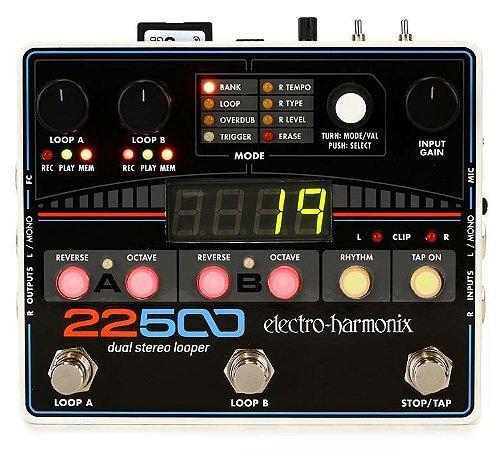 Pedal Electro Harmonix 22500 LOOPER Dual Stereo Looper EHX