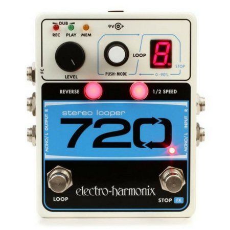 Pedal Looper Electro Harmonix Stereo Looper 720 EHX