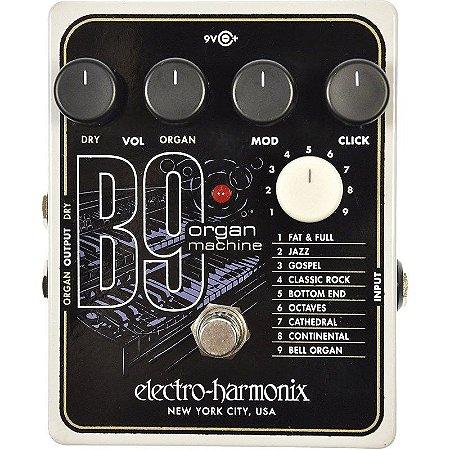 Pedal Electro Harmonix B9 Organ Machine Nyc Usa EHX