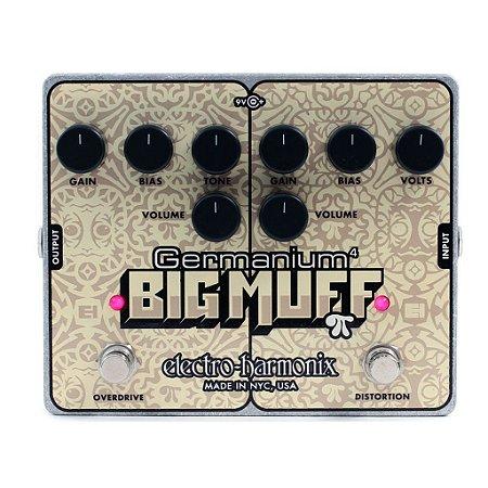 Pedal Electro harmonix Germanium 4 Big Muff Distortion EHX