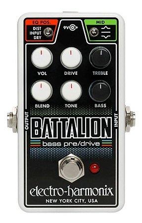 Pedal Bass Preamp Electro Harmonix Nano Battalion EHX