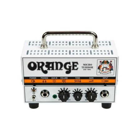 Cabecote Hibrido Micro Terror 20w Orange - pré valvulado