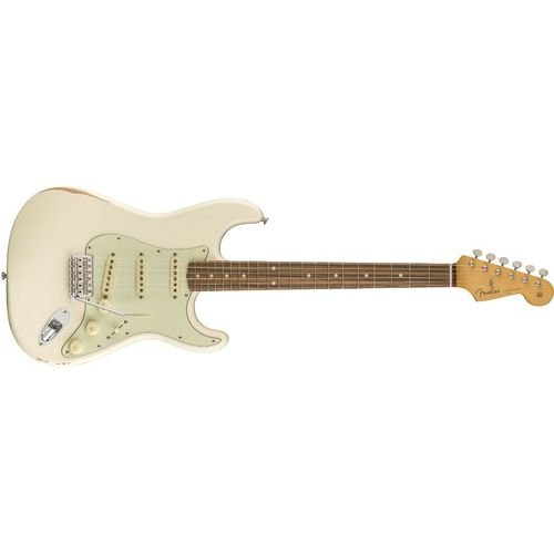GUITARRA FENDER ROAD WORN STRATO PAU FERRO - OLYMPIC WHITE