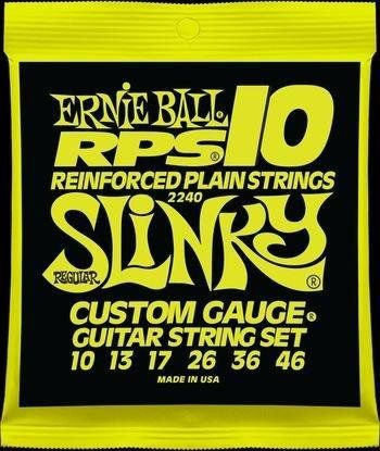 ENCORDOAMENTO GUITARRA ERNIE BALL 010 46 REGULAR SLINKY 2240