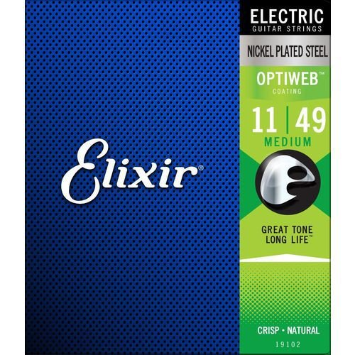 ENCORDOAMENTO ELIXIR OPTIWEB 011-049 19102 GUITARRA