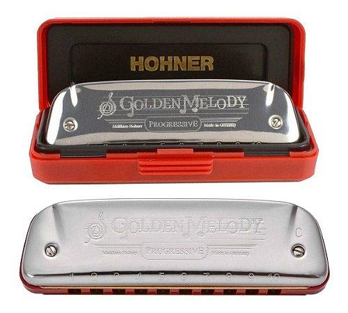 GAITA HARMONICA HOHNER GOLDEN MELODY 542/20 - C (DO)
