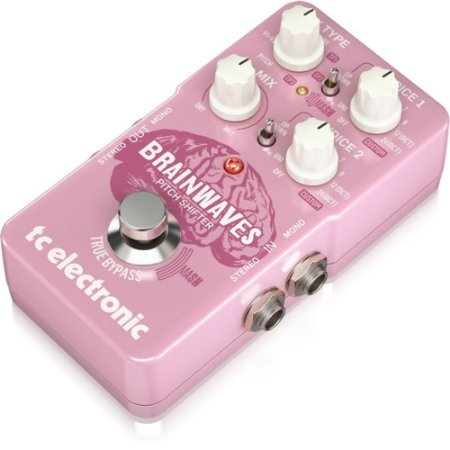 PEDAL PITCH SHIFTER TC ELECTRONIC BRAINWAVES FONTE