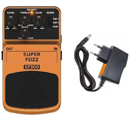 PEDAL P GUITARRA BEHRINGER SF300 - SUPER FUZZ DISTORTION