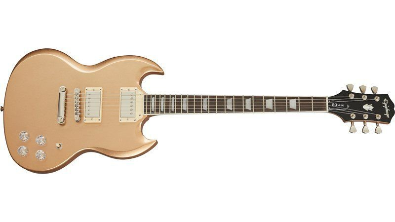 GUITARRA EPIPHONE SG MUSE - SMOKE ALMOND METALLIC