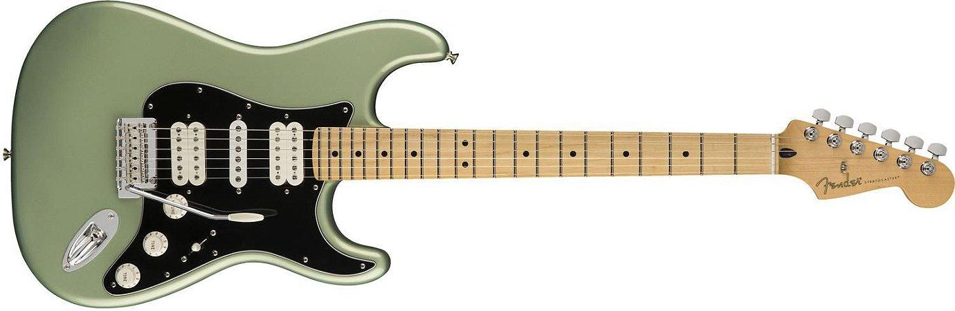 GUITARRA FENDER STRATOCASTER PLAYER SAGE GREEN METALLIC CASE