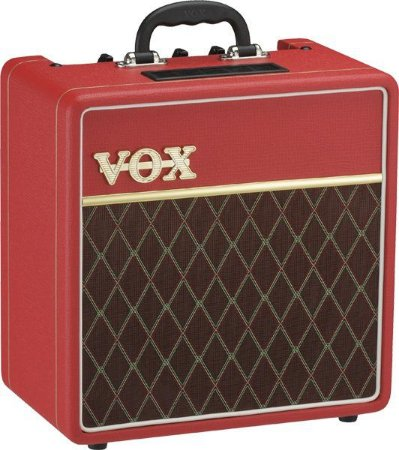 COMBO VOX AC4C1-RD LTD EDITION - RED