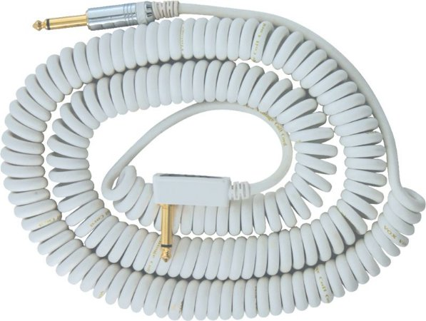 CABO PARA INSTRUMENTO VOX VCC-90 - WH - WHITE - 9 METROS