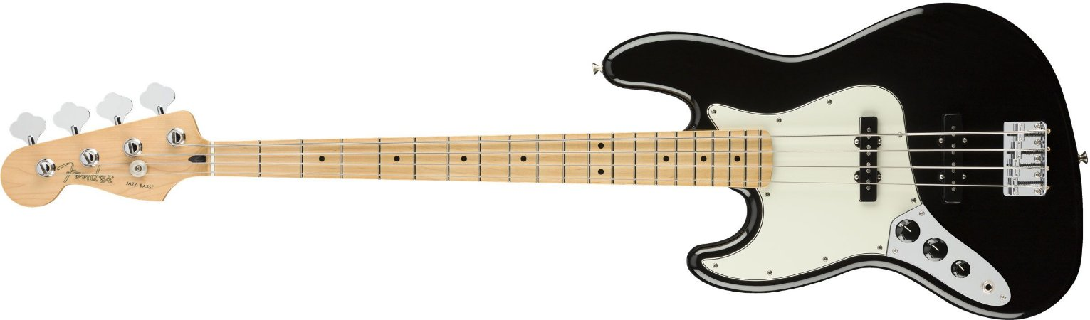 CONTRABAIXO FENDER PLAYER JAZZ BASS CANHOTO BLACK - NFE