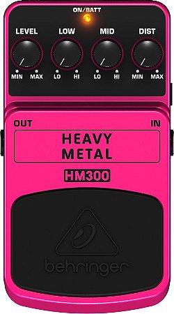 PEDAL PARA GUITARRA BEHRINGER HM300 - HEAVY METAL