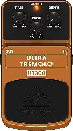 PEDAL PARA GUITARRA BEHRINGER UT300 - ULTRA TREMOLO