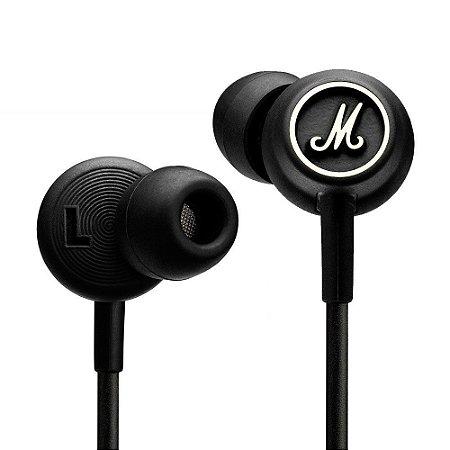 Fone de ouvido black/white - MARSHALL MODE B/W - MARSHALL