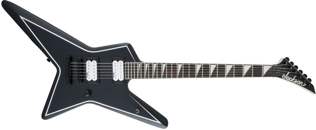 GUITARRA JACKSON SIGNATURE GUS G. STAR JS32 - SATIN BLACK