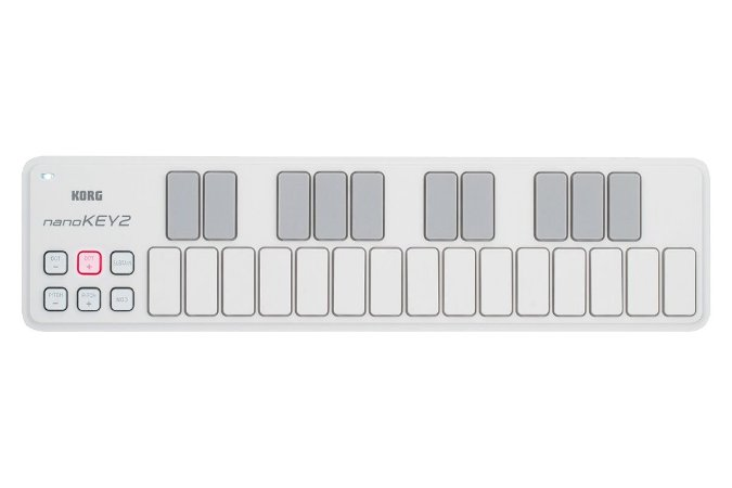 CONTROLADOR KORG USB-MIDI - NANOKEY2-WH