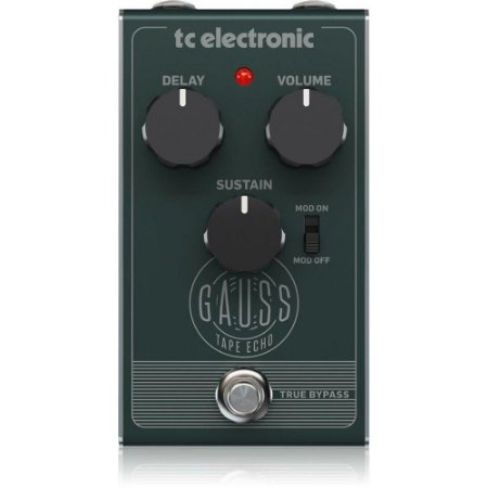 PEDAL PARA GUITARRA - TC ELECTRONIC - GAUSS TAPE ECHO
