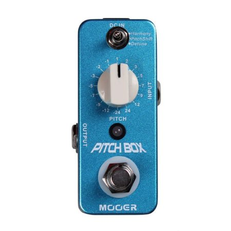 PEDAL P. GUITARRA MOOER - PITCH BOX - HARMONY/PITCH SHIFTING