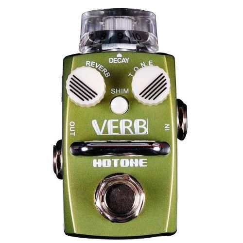 PEDAL SINGLE DIGITAL REVERB HOTONE VERB SRV-1