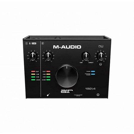 INTERFACE DE ÁUDIO M-AUDIO AIR 192 4 USB 24 BITS 192KHZ