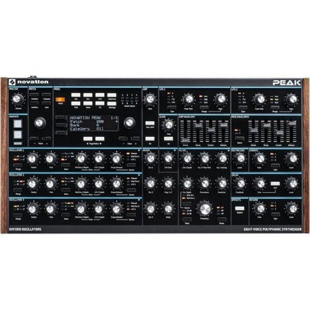 Novation Peak , Sintetizador Analogico Poli De 8 Vozes.
