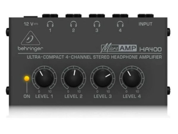 POWERPLAY AMP. DE FONE - BEHRINGER - HA400