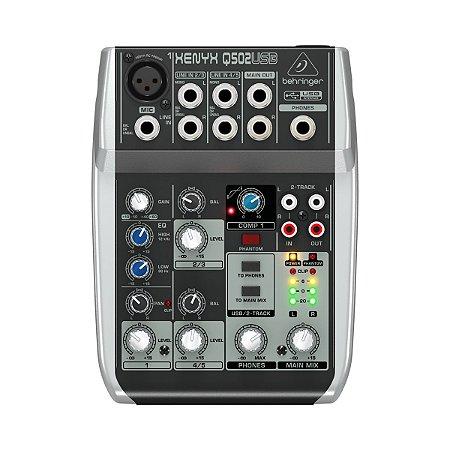 MIXER XENYX - BEHRINGER -110V - Q502USB