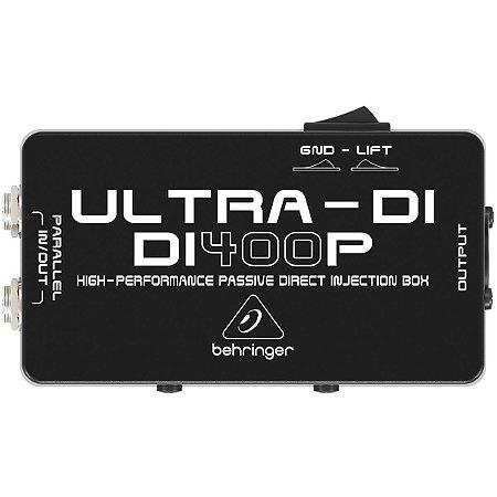 DIRECT BOX PASSIVO - BEHRINGER - DI400P