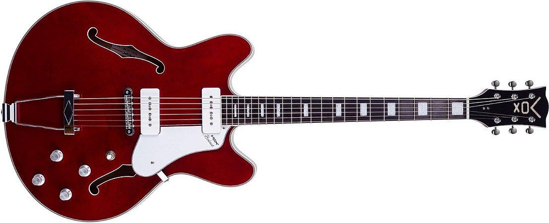 GUITARRA VOX BOBCAT - BC-V90-CR - RED COM CASE ORIGINAL