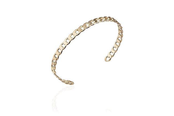 Bracelete Chain  Banho Ouro Amarelo