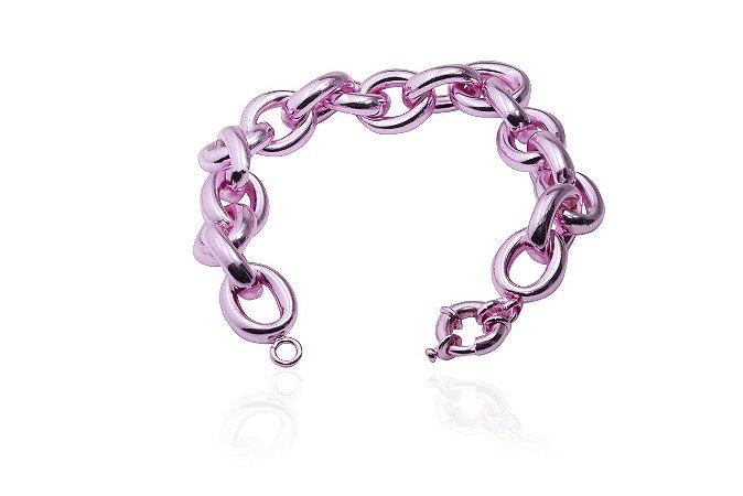 Pulseira Elos Pink