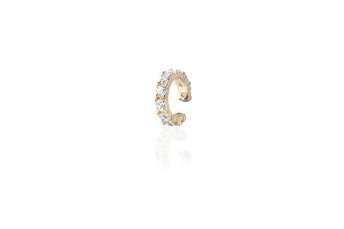 Piercing Zirconia Cristal Ouro