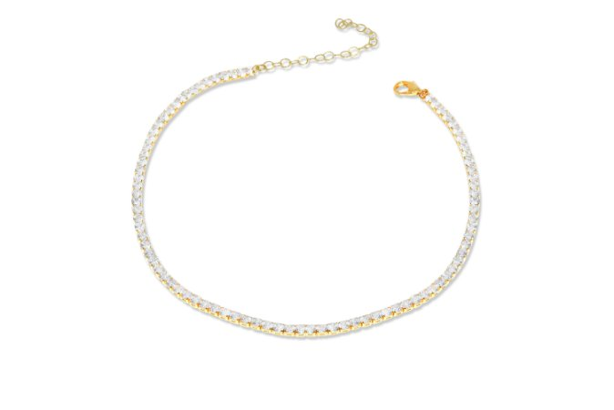 Chocker Riviera Color Ouro Amarelo