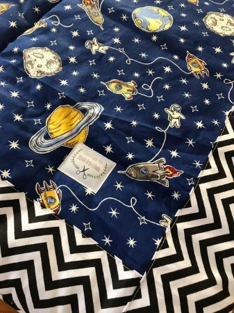 Tapete Arte Criada - Astronauta Marinho