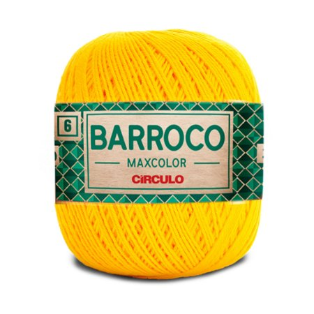 Barbante Barroco Maxcolor 6 Fios 200g Cor 1289