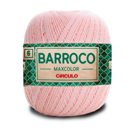 Barbante Barroco Maxcolor 6 Fios 200g Cor 3346