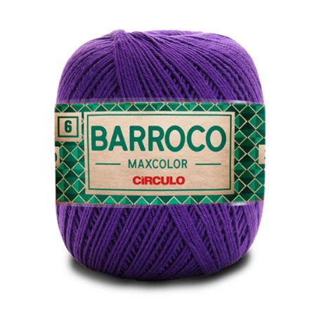 Barbante Barroco Maxcolor 6 Fios 200g Cor 6290