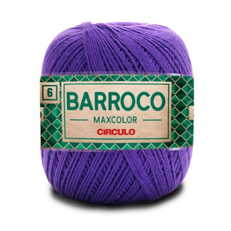 Barbante Barroco Maxcolor 6 Fios 200g Cor 6482