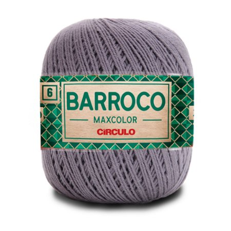 Barbante Barroco Maxcolor 6 Fios 200g Cor 8336