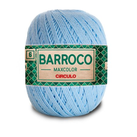Barbante Barroco Maxcolor 6 Fios 400g Cor 2012