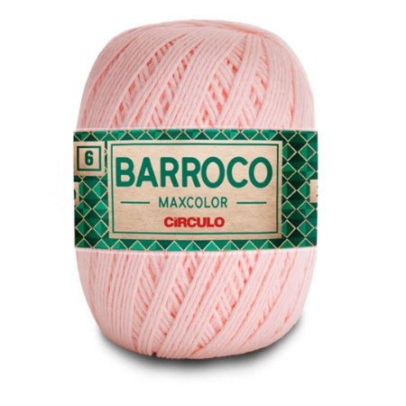 Barbante Barroco Maxcolor 6 Fios 400g Cor 3346