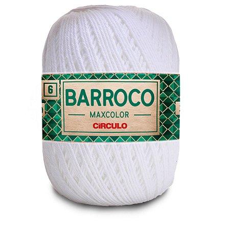Barbante Barroco Maxcolor 6 Fios 400g Cor 8001