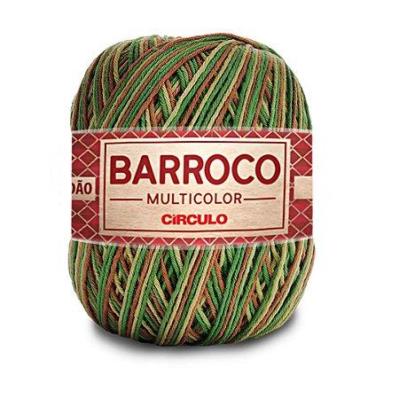 Barbante Barroco Multicolor 6 Fios 400g Cor 9201